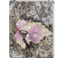 Rain drops iPad Case/Skin