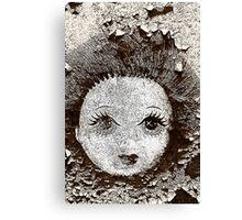Doll face Canvas Print