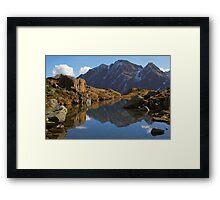 Alpine Pond Framed Print