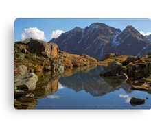 Alpine Pond Canvas Print