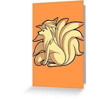 Ninetales Greeting Card