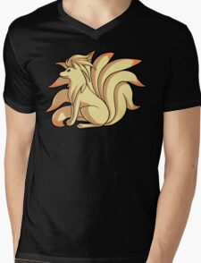 Ninetales Mens V-Neck T-Shirt