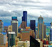 Seattle in Living Color by Sandra  Degnan