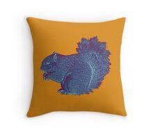 Squirrel Quarrel  Throw Pillow