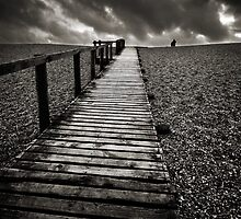 Chesil Boardwalk by Miffy