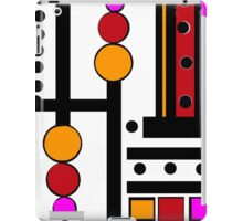 modernism red yellow pink 2014 iPad Case/Skin