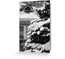 Country Home Christmas ©  Greeting Card