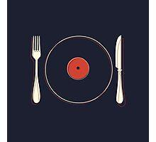 Vinyl Food Photographic Print