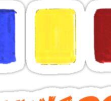 ORANGE?! Sticker