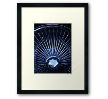 Chrome wire Framed Print