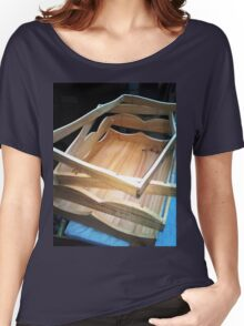 3 FRAMES AND A TRAY Women's Relaxed Fit T-Shirt