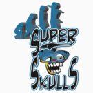 evolution super skulls logo by dragon2020 by dragon2020