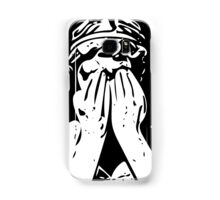 Weeping angel digital sketch Samsung Galaxy Case/Skin