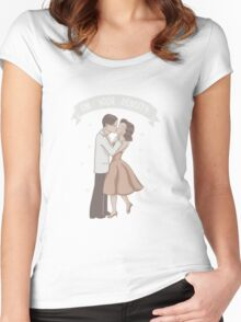 My Density Has Brought Me To You Women's Fitted Scoop T-Shirt