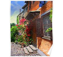 A Tuscany Villa in Spring  Poster