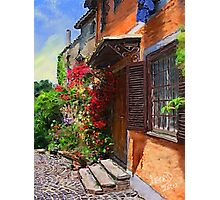 A Tuscany Villa in Spring  Photographic Print