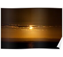 Redcliffe Sunset Poster