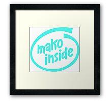 Mako Inside Framed Print