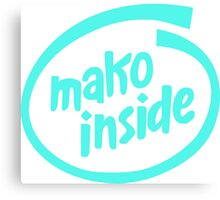Mako Inside Canvas Print
