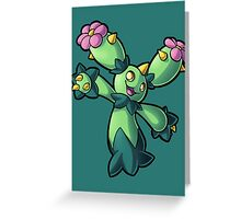 Maractus Greeting Card