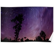 South East Queensland Star Trails II Poster