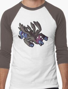 Hydreigon Men's Baseball ¾ T-Shirt