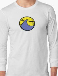 Wave Circle Long Sleeve T-Shirt