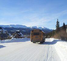 School Bus, Breckenridge Colorado by AngeliqueSinton