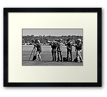 Ahhhhh the Life of a Photograhper Framed Print
