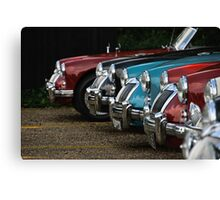 MGAs at Ickworth Rally Canvas Print