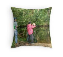 Their Big Day Throw Pillow