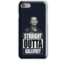 Straight Outta Gallifrey - Dr. Who iPhone Case/Skin