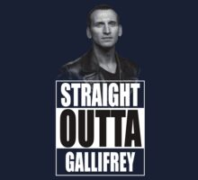 Straight Outta Gallifrey - Dr. Who by welikestuff