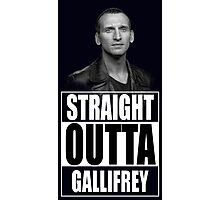 Straight Outta Gallifrey - Dr. Who Photographic Print
