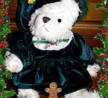 Teddy And Her cookie by Linda Miller Gesualdo