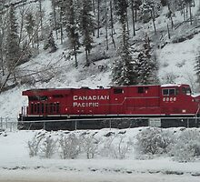 The Canadian Pacific- Golden Canada by AngeliqueSinton