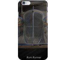 1933 Oldsmobile Touring Sedan - Rum Runner iPhone Case/Skin
