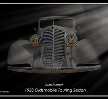 "1933 Oldsmobile Touring Sedan - Rum Runner by Michael "" Dutch "" Dyer"