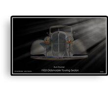 1933 Oldsmobile Touring Sedan - Rum Runner Canvas Print