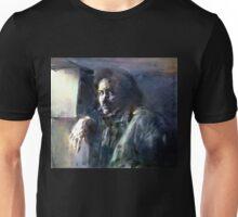 Portrait of Kip Hanrahan (at the 11th Street Studio, NYC) Unisex T-Shirt