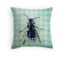 The hornet Throw Pillow