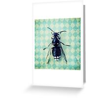 The hornet Greeting Card