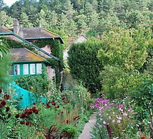 Monet's house and garden.  Giverny, France. by lynneriley