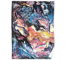 Space: Nebula Watercolour Print Poster