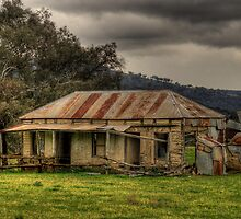 Location Location - Somewhere on the Road To Hill End - The HDR Experience by Philip Johnson