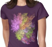 Ocean Flower # 3 Womens Fitted T-Shirt