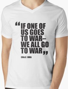 Conor McGregor - Quotes [War] Mens V-Neck T-Shirt