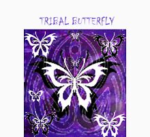 TRIBAL BUTTERFLY Womens Fitted T-Shirt