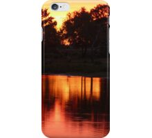 New Forest Sunset (2) iPhone Case/Skin