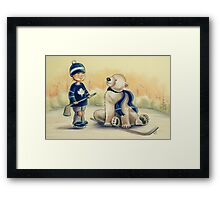 Team Mates Framed Print